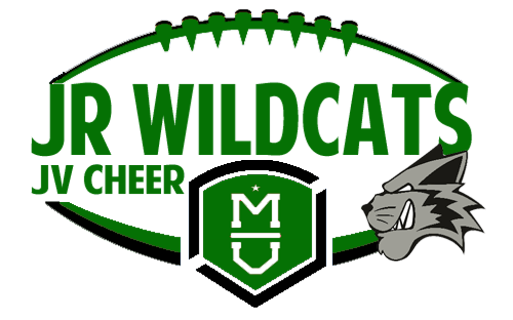 Wildcat football clipart jpg black and white stock Wildcats JV Green Cheer jpg black and white stock