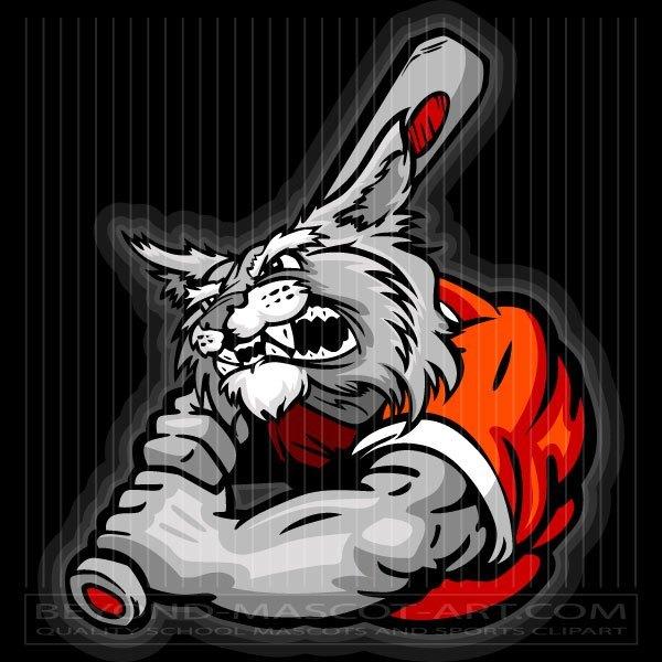 Wildcats baseball clipart clip freeuse stock Wildcat Baseball Batter clip freeuse stock