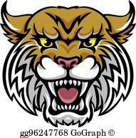 Clip art royalty gograph. Free clipart wildcat