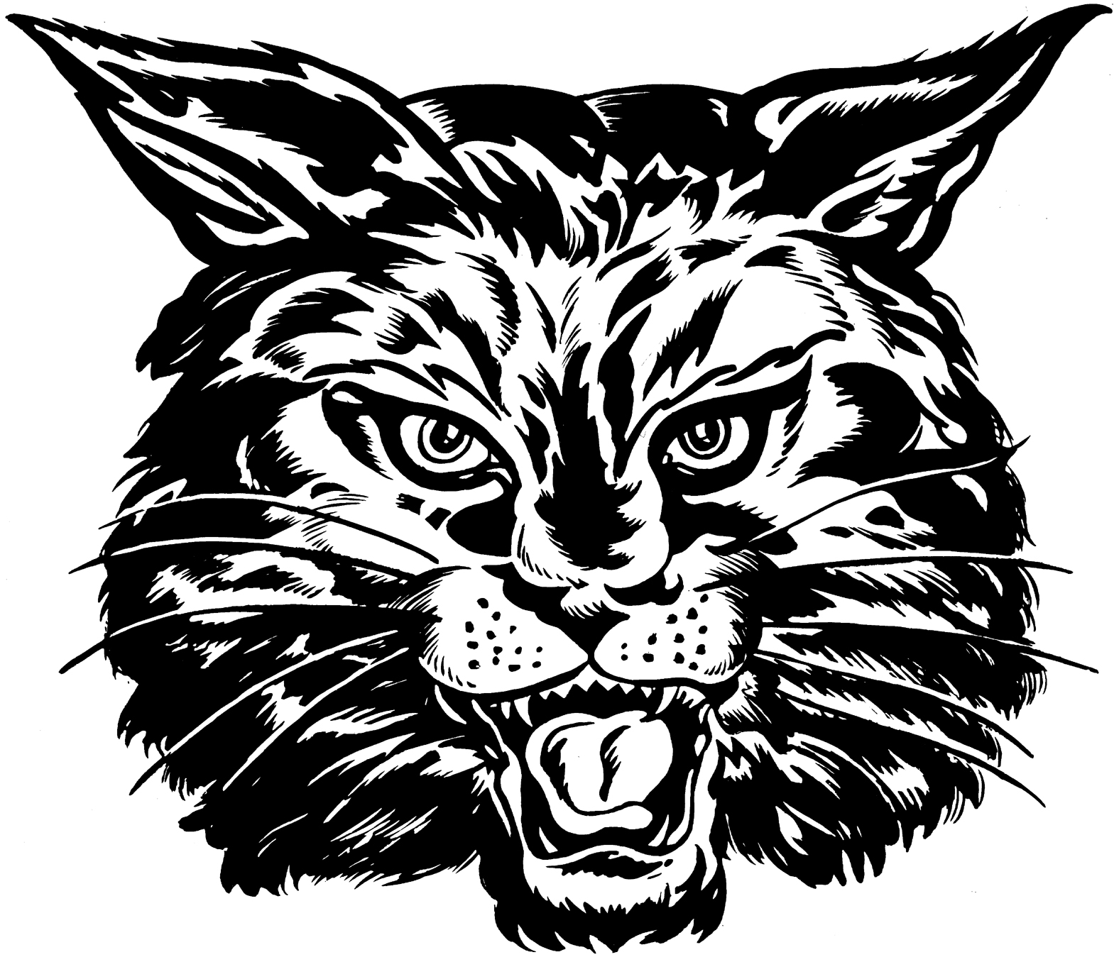 Wildcats mascot clipart vector royalty free stock Wildcat mascot clipart 7 » Clipart Station vector royalty free stock