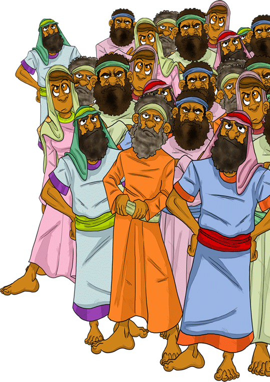 Wilderness clipart biblical picture library download Korah\'s rebellion against Moses in the wilderness. | The ... picture library download