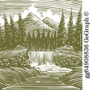 Wilderness clipart free banner freeuse stock Wilderness Clip Art - Royalty Free - GoGraph banner freeuse stock
