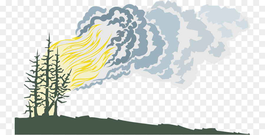 Wildfire clipart png graphic free download Cartoon Nature Background png download - 800*459 - Free ... graphic free download