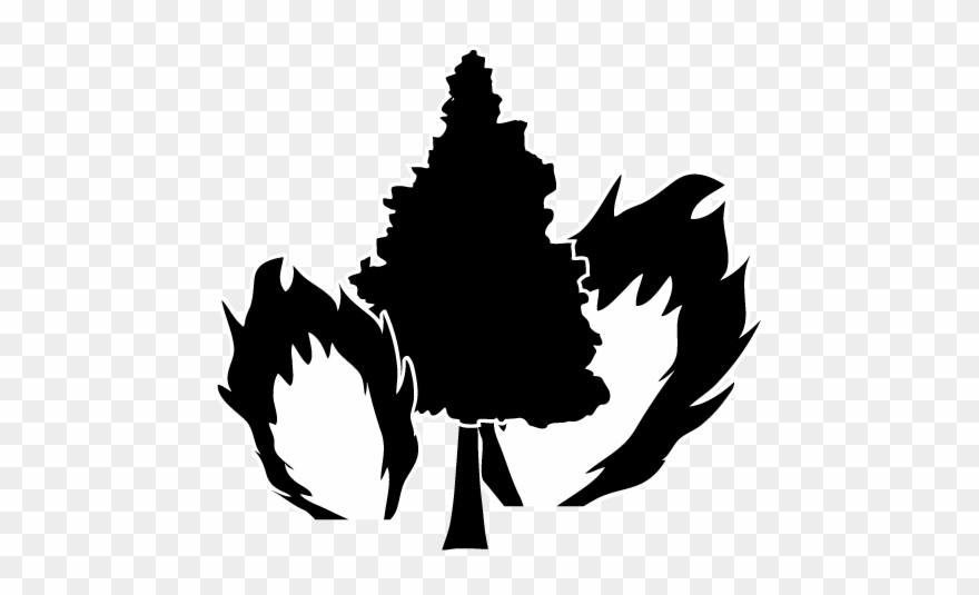 Wildfire clipart png picture freeuse Wildfire Fire - Natural Disasters Black And White Clipart ... picture freeuse