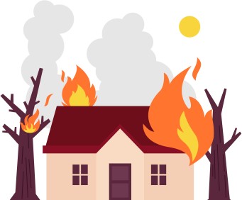Wildfires clipart graphic download Forest and Wildfire Guide - What Causes Them and How to ... graphic download
