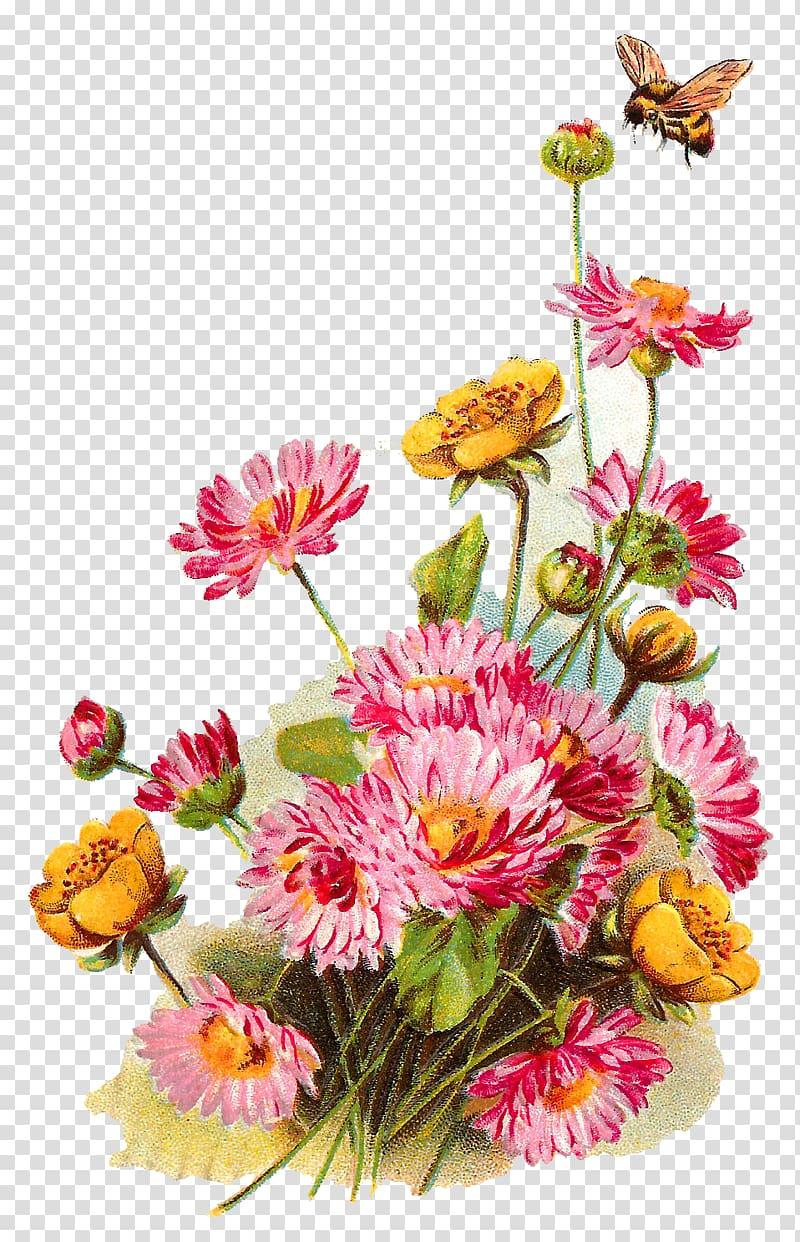 Wildflower background clipart