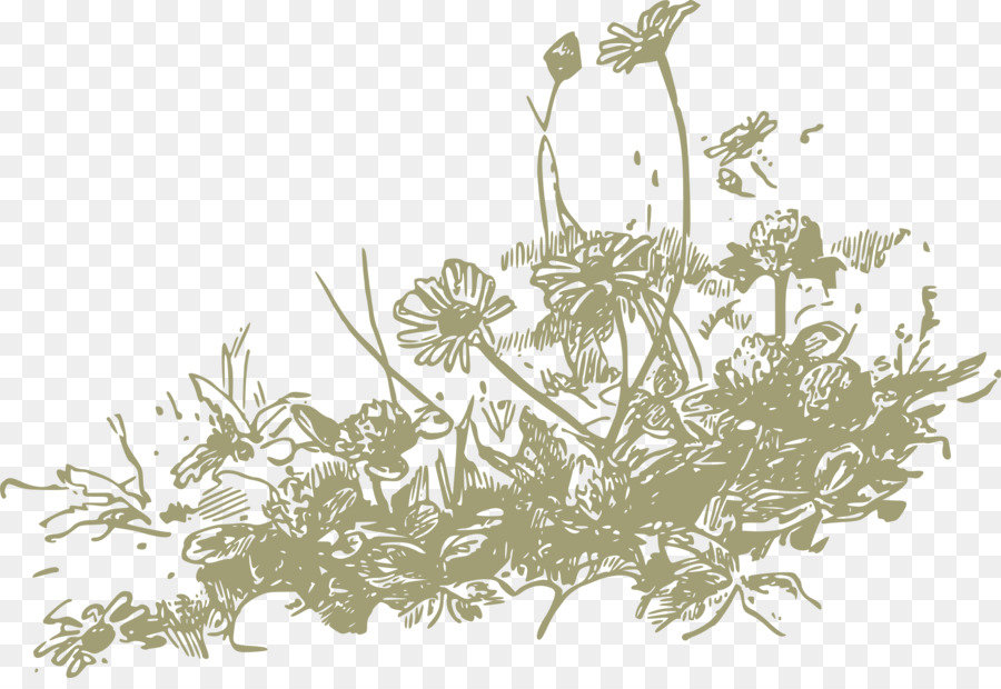 Wildflower background free clipart banner library Floral Flower Background png download - 2400*1627 - Free ... banner library