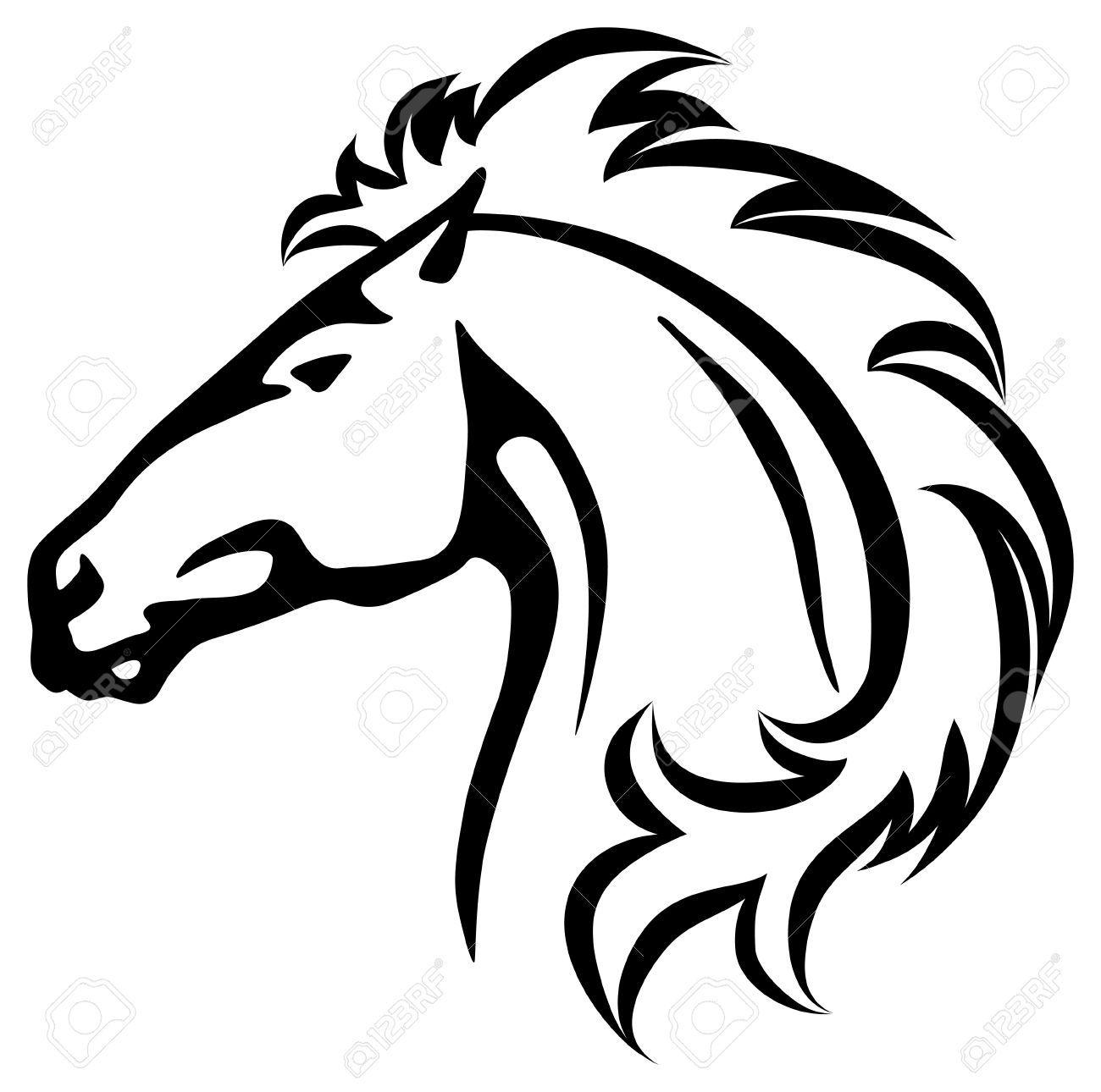 Wildhorse clipart jpg stock Wild horse clipart 3 » Clipart Portal jpg stock