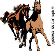 Wildhorse clipart picture Wild Horse Clip Art - Royalty Free - GoGraph picture