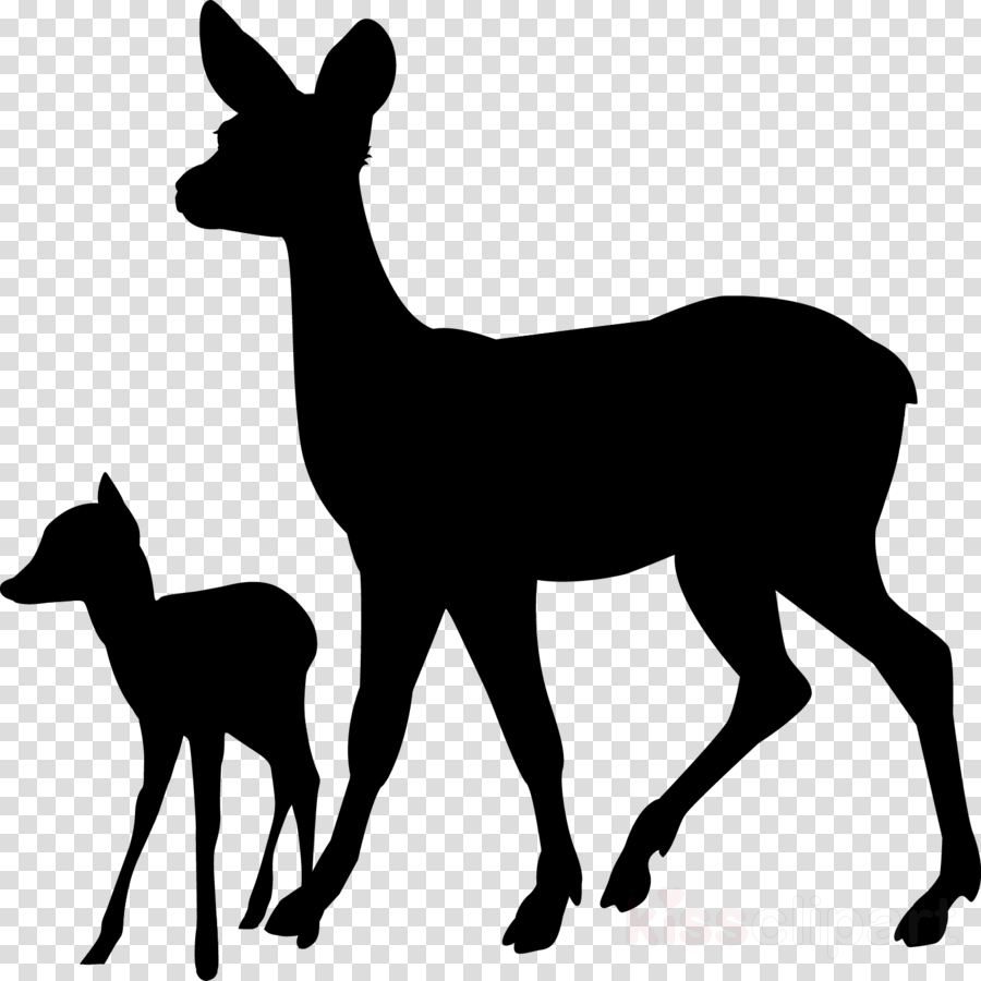 Wildlife clipart images clip art free download Silhouette, Deer, Wildlife, transparent png image & clipart ... clip art free download