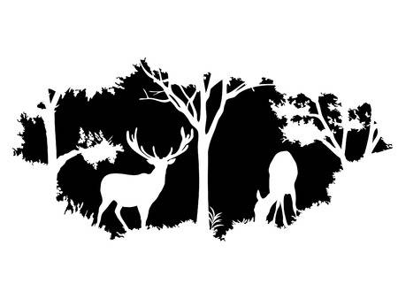 Wildlife clipart images clipart black and white stock 478 587 Wildlife Stock Illustrations Cliparts And Royalty ... clipart black and white stock