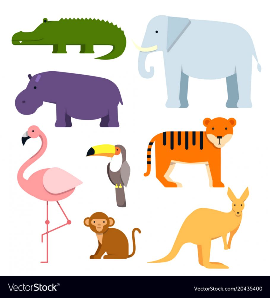 Wildlife clipart vector svg black and white Wildlife Animals Clipart | Wallpapers for Fun svg black and white