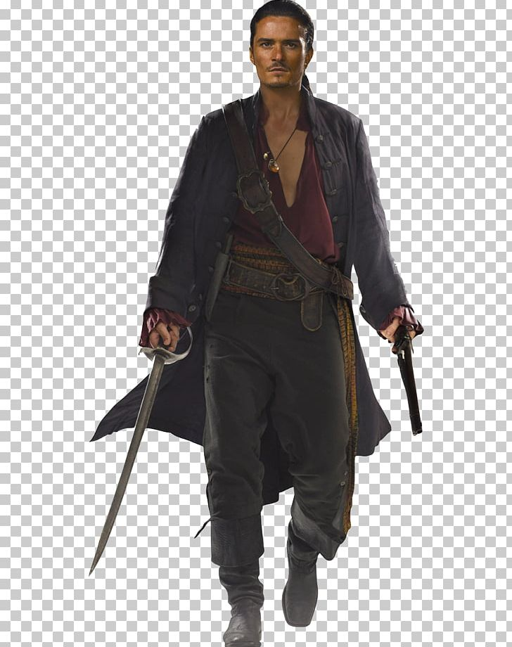 Will turner clipart picture black and white stock Orlando Bloom Will Turner Elizabeth Swann Hector Barbossa ... picture black and white stock
