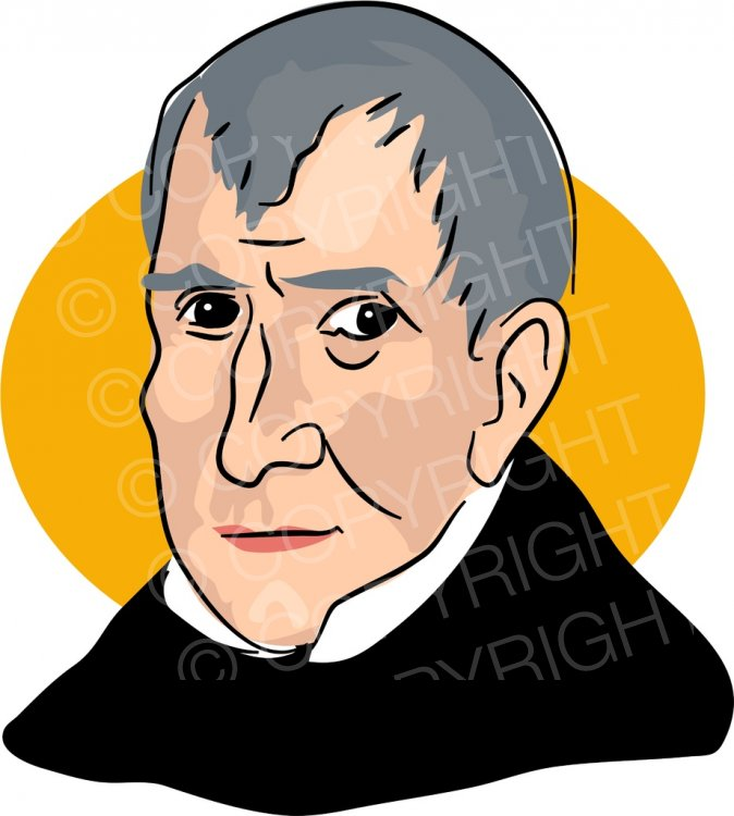 William henry harrison clipart svg royalty free American President William Henry Harrison Clipart ... svg royalty free