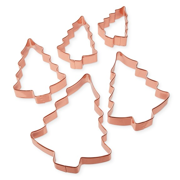 Williams sonoma clipart clip art free download Williams-Sonoma Copper Tree Cookie Cutters on Ring, Set of 5 ... clip art free download