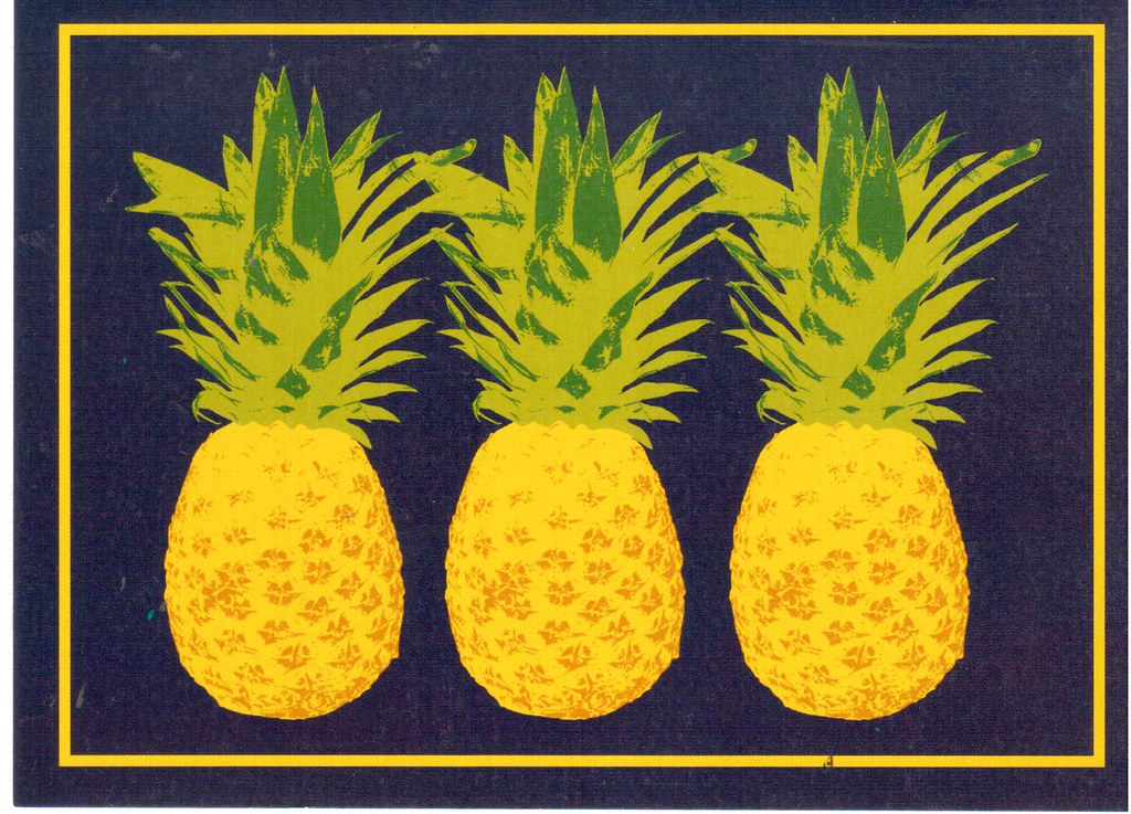 Williiamsburg style pineapple clipart image library download The World\'s Best Photos of painting and williamsburg ... image library download