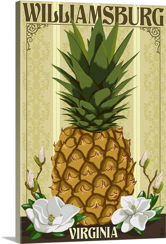 Williiamsburg style pineapple clipart clipart freeuse library Williamsburg, Virginia, Colonial Pineapple clipart freeuse library