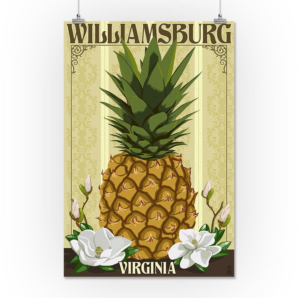 Williiamsburg style pineapple clipart image freeuse library Amazon.com: Williamsburg, Virginia - Colonial Pineapple ... image freeuse library