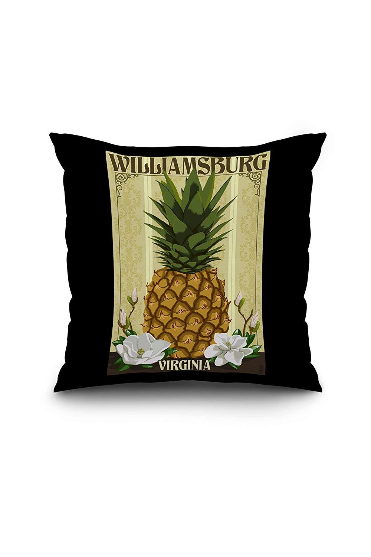 Williiamsburg style pineapple clipart clip Amazon.com: Williamsburg, Virginia - Colonial Pineapple ... clip