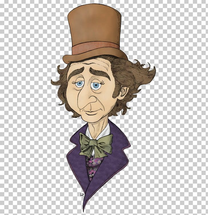 Willy wonka cartoon clipart