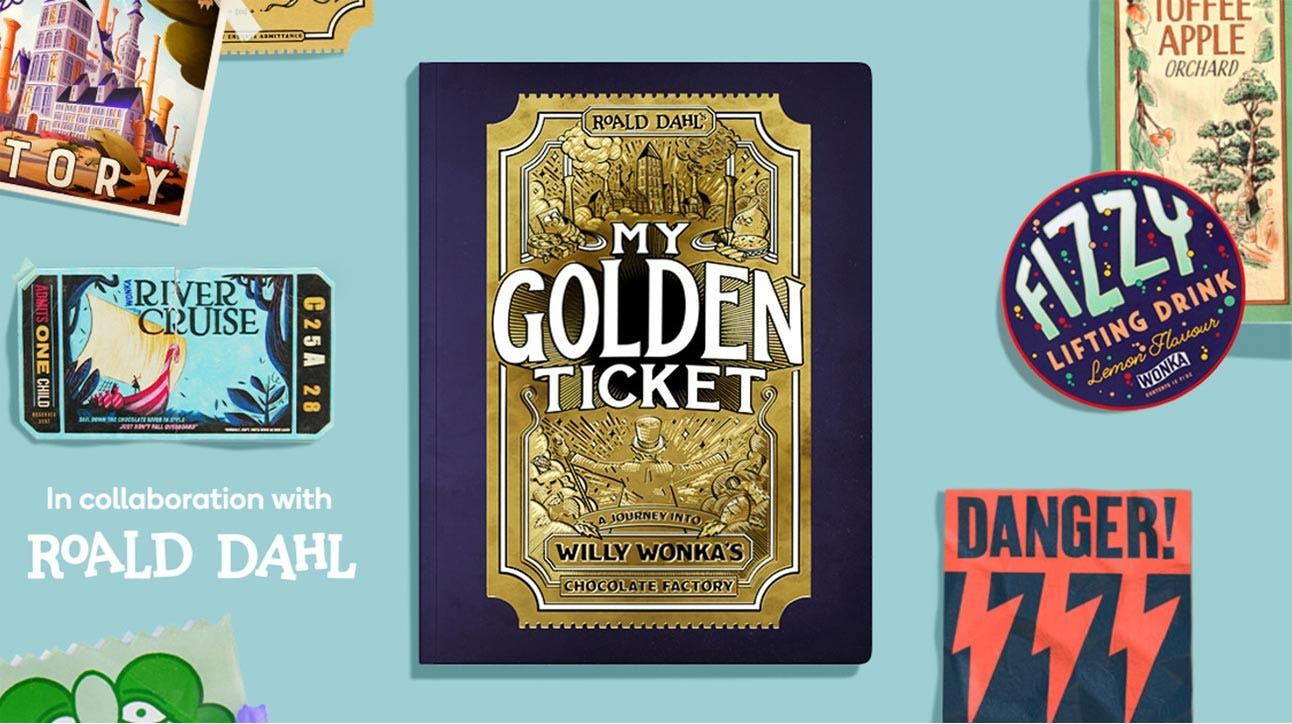 Willy wonka lifting soda clipart free stock My Golden Ticket free stock