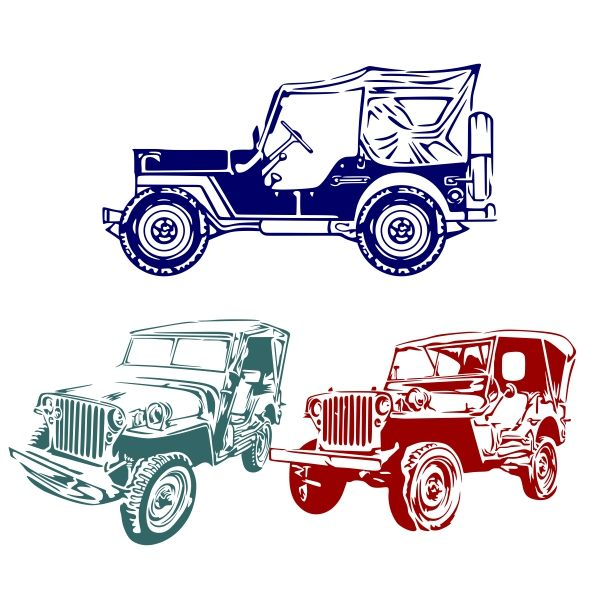 Willys logo clipart graphic library Pin by CuttableDesigns on Transportation   Jeep drawing ... graphic library