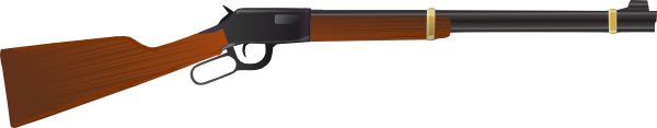 Winchester rifles clipart graphic freeuse stock Winchester Rifle Clip Art at Clker.com - vector clip art ... graphic freeuse stock