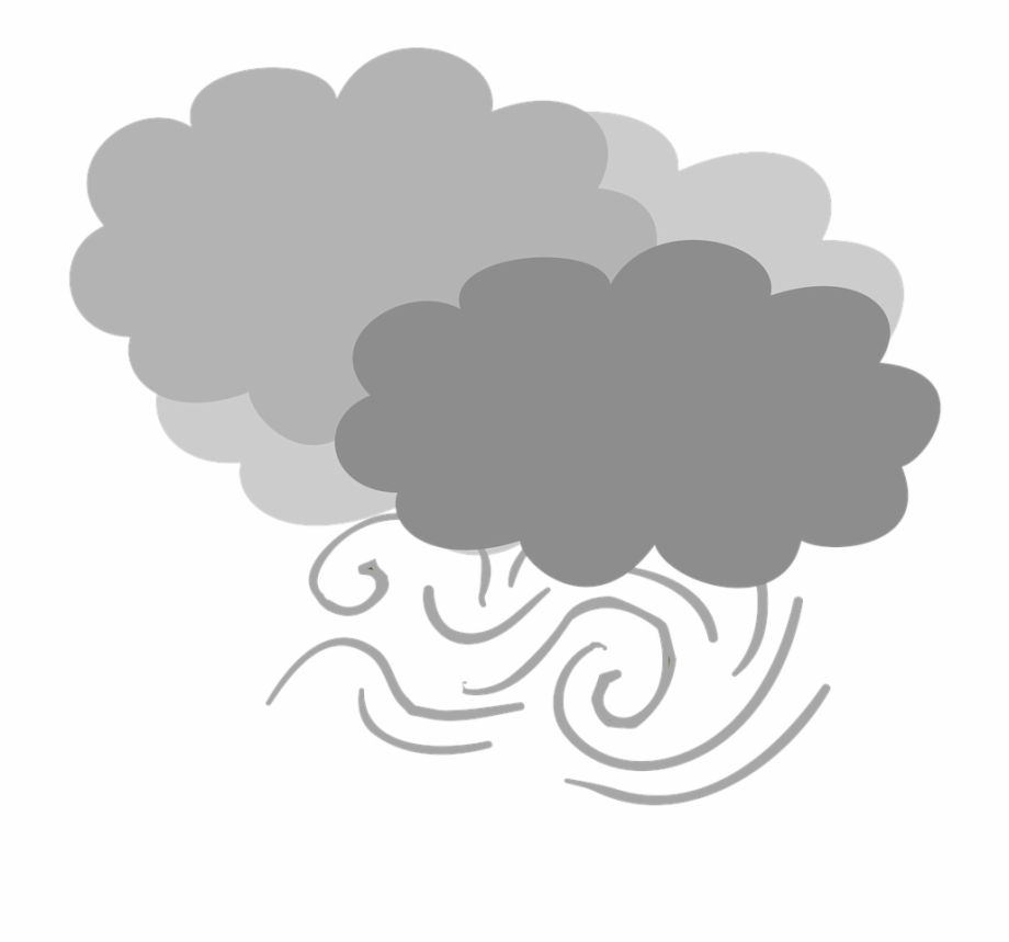 Wind clipart gif graphic royalty free Wind Cloudy Gray Clouds - Weather Report Cloudy Gif - dark ... graphic royalty free