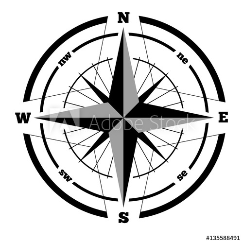 Wind lines handrawn clipart royalty free stock Compass wind rose hand drawn design element - Buy this stock ... royalty free stock