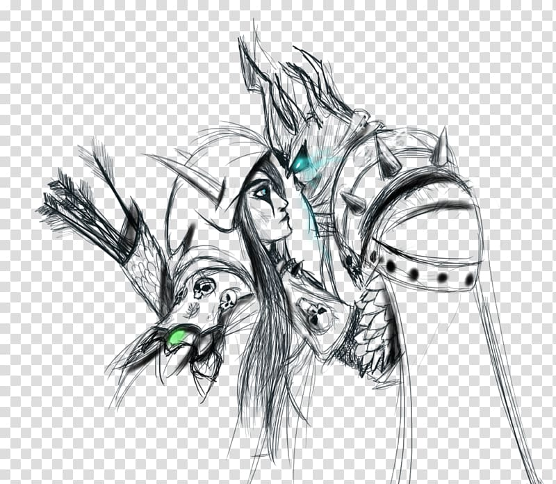 Wind runner lines clipart picture free stock Warcraft III: Reign of Chaos World of Warcraft: Arthas: Rise ... picture free stock
