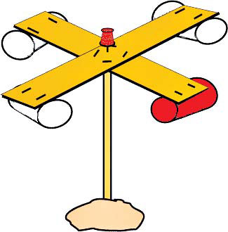 Wind speed clipart svg library stock RobinAge: Experiments - Wind Speed Anemometer svg library stock