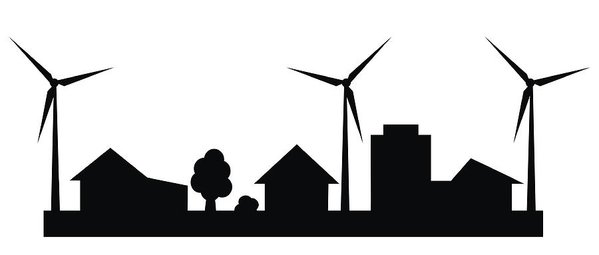 Wind turbine roof clipart banner library Wind Power Drawing   Free download best Wind Power Drawing ... banner library