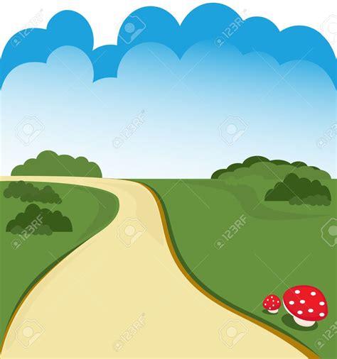 Winding farm road clipart image freeuse Farm Road Clip Art - Hawthorneatconcord image freeuse