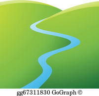 Winding river clipart library River Clip Art - Royalty Free - GoGraph library