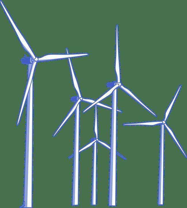 Windmill farn clipart clip transparent download Wind Farm Clipart transparent PNG - StickPNG clip transparent download