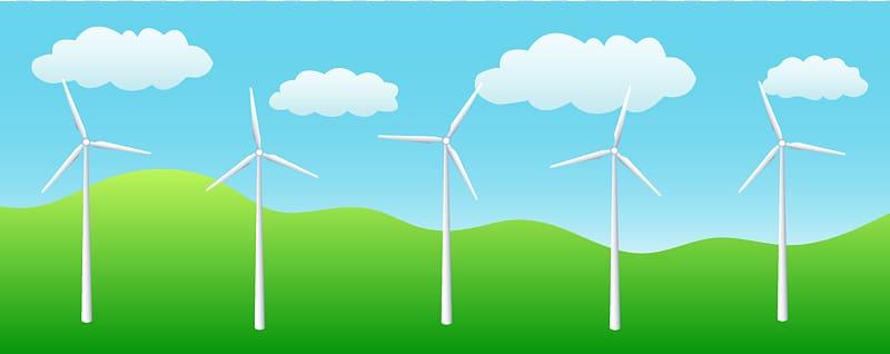 Windmill farn clipart svg transparent library Wind farm Wind turbine Wind power Renewable energy ... svg transparent library