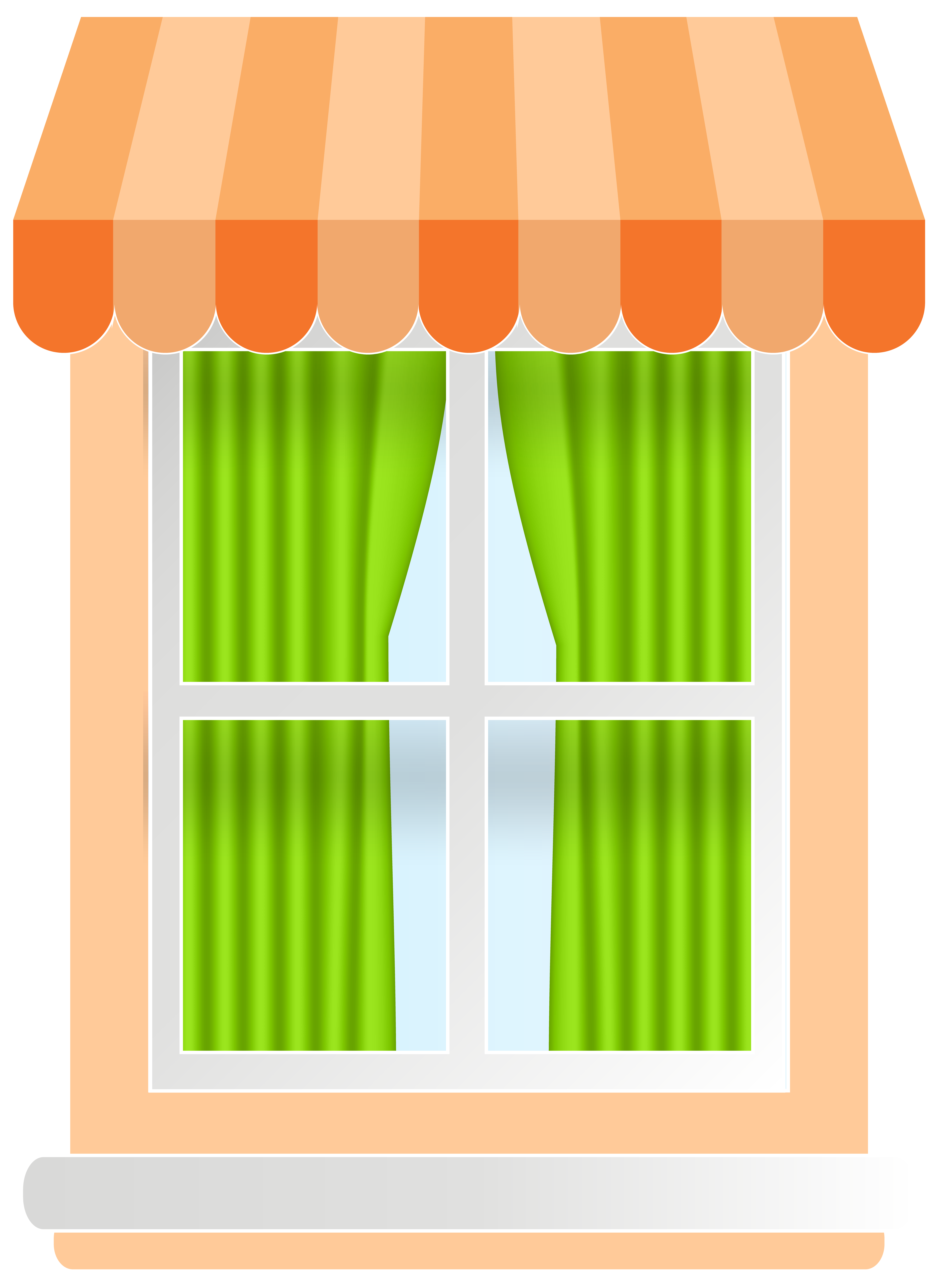 Windwo clipart picture freeuse stock Orange Window PNG Clip Art - Best WEB Clipart picture freeuse stock
