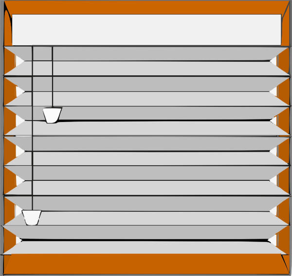 Window blinds clipart