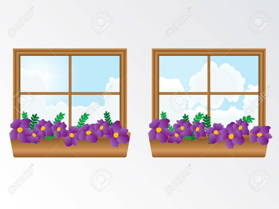Window boxes clipart vector transparent Download window box clipart Window Clip art vector transparent