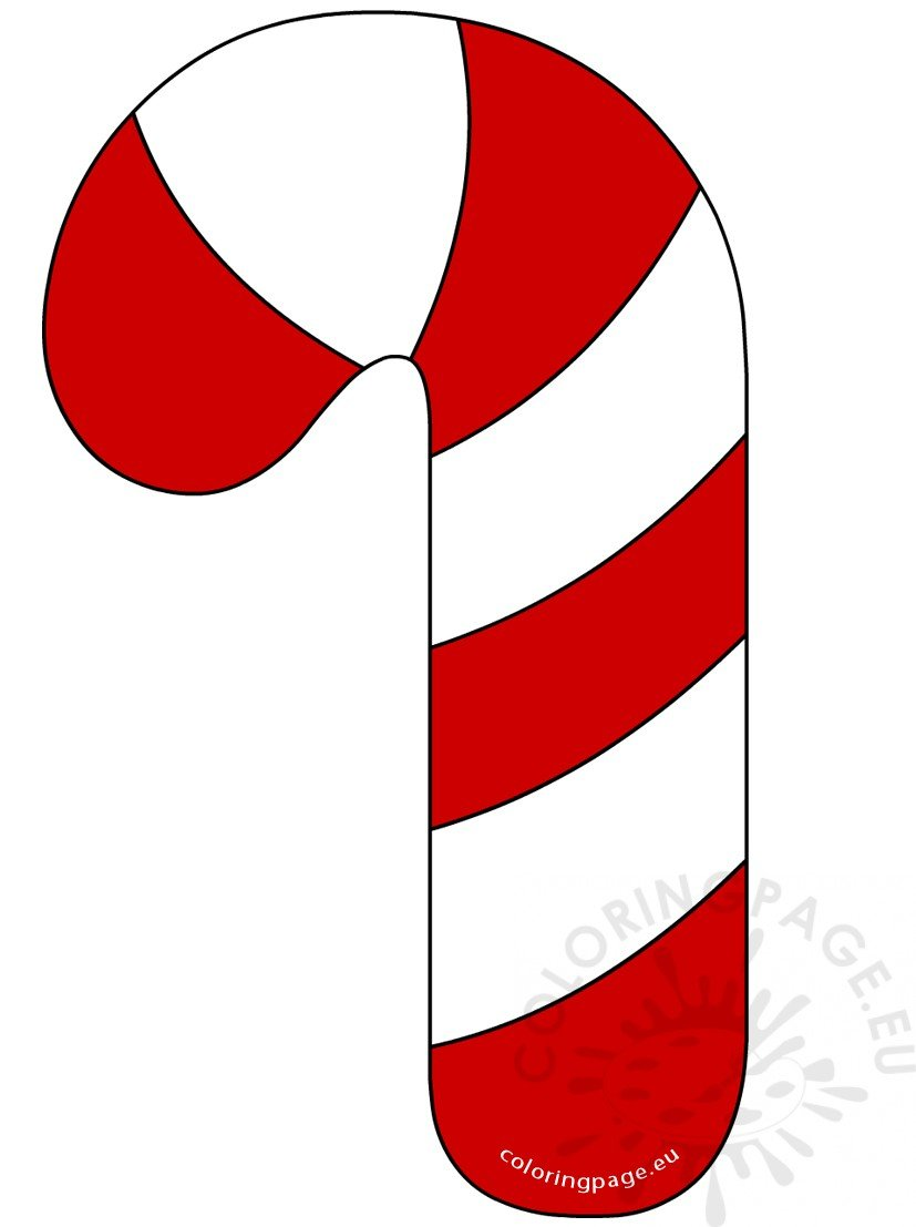 Window candy clipart jpg free download Red and White Candy Cane clipart – Coloring Page jpg free download