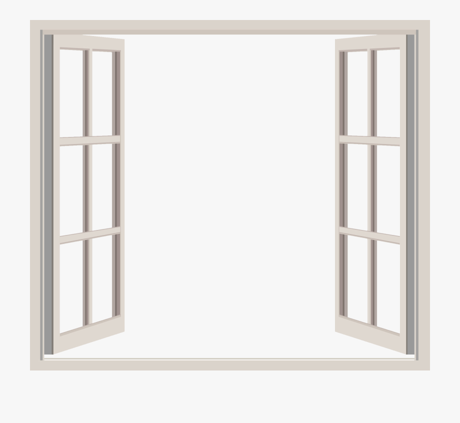 Window clipart clear background vector freeuse library Open Window Png - Transparent Background Window Transparent ... vector freeuse library