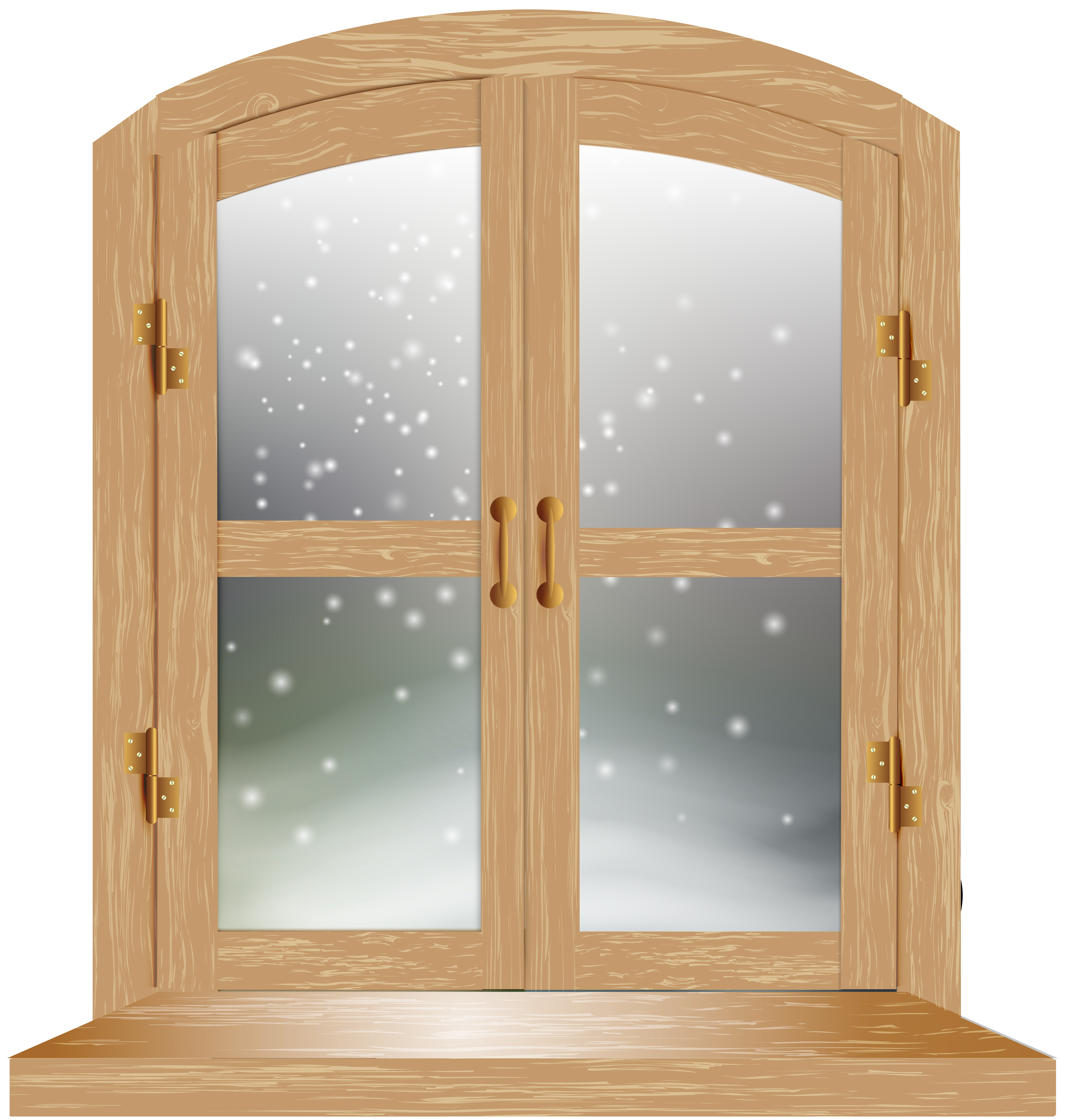Window clipart gallery vector library download Winter Window PNG Clip Art Image   Gallery Yopriceville ... vector library download