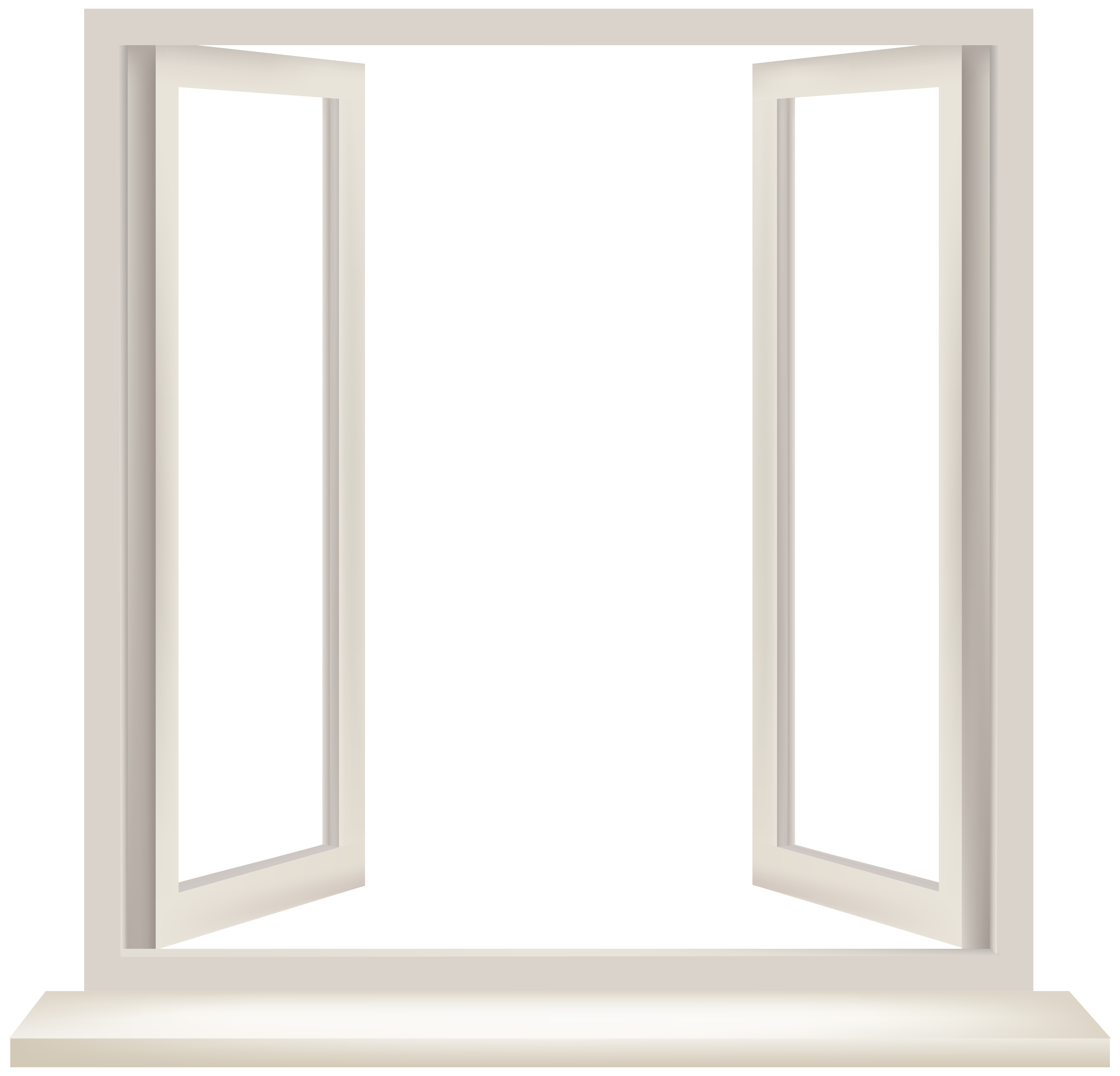 Window clipart transparent png royalty free download Transparent Window PNG Clip Art - Best WEB Clipart png royalty free download