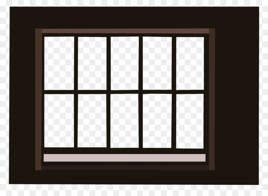 Window frame clipart no background png black and white library Picture Frame Frame clipart - Window, Square, Rectangle ... png black and white library