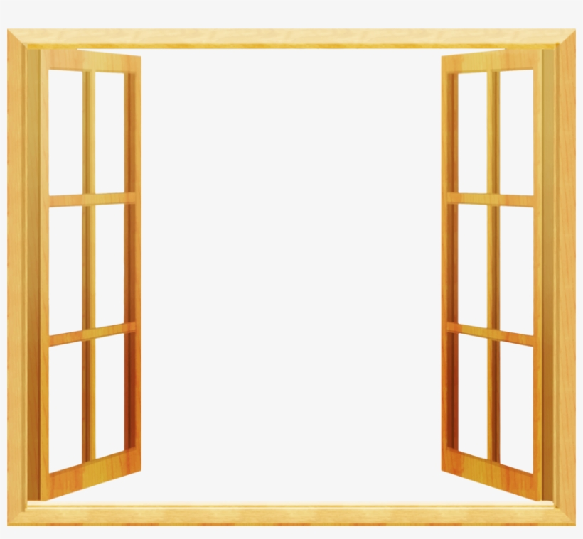 Windowframe picture frame clipart graphic royalty free Paned Window Door Chambranle Stained Glass - Window Frame ... graphic royalty free