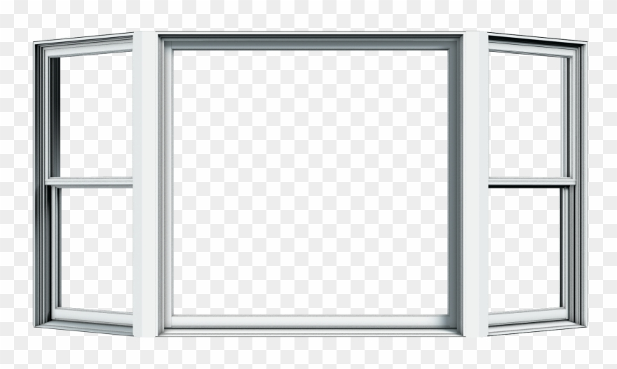 Windowframe picture frame clipart graphic download Window Frame Vector - White Wood Window Png Clipart (#493712 ... graphic download