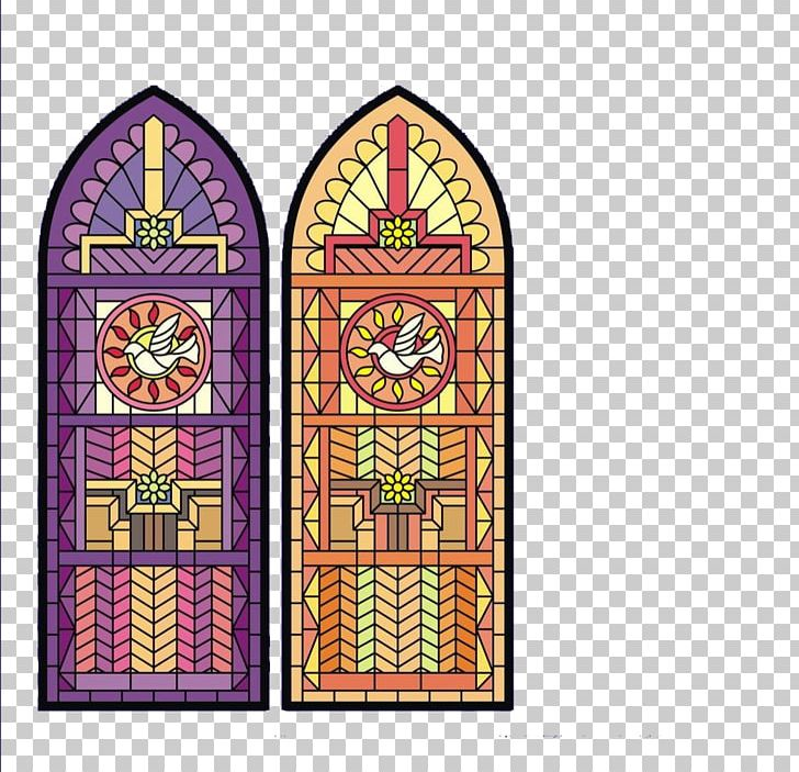 Window glass clipart aesthetic jpg black and white Stained Glass Color PNG, Clipart, Aesthetics, Arch, Art ... jpg black and white