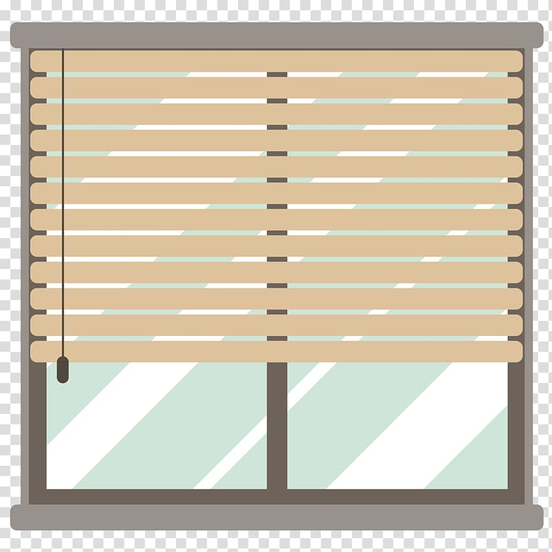 Window shade clipart image library Window blind Curtain Flat design, Flat window transparent ... image library