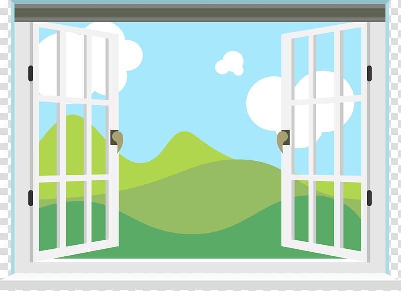 Window view clipart jpg free Window Microsoft PowerPoint Web template system Room, Window ... jpg free