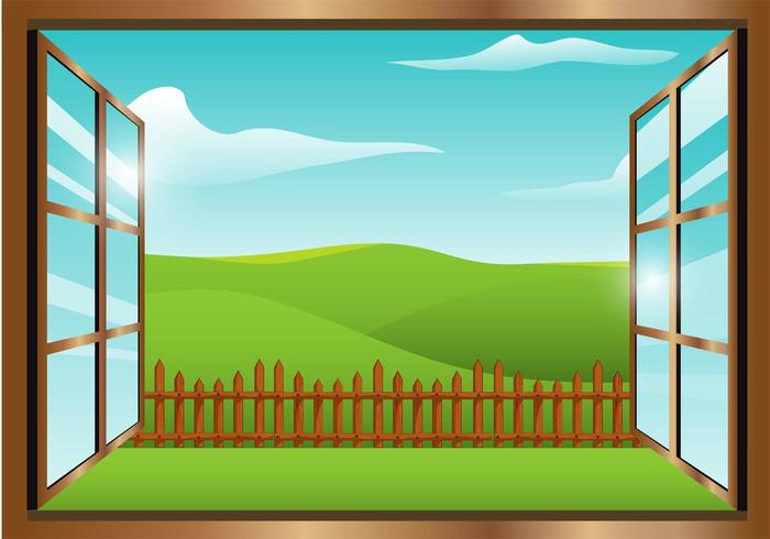 Window view clipart svg library stock Window View Vector 263798 - WeLoveSoLo svg library stock